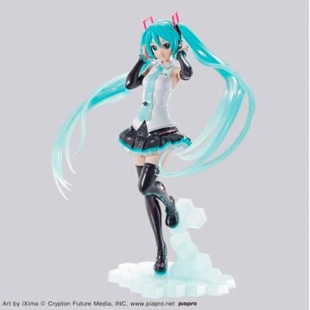 Hatsune Miku modell készlet figura 15cm termékfotója