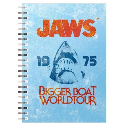 Jaws 1975 Bigger Boat A5 jegyzetfüzet termékfotója