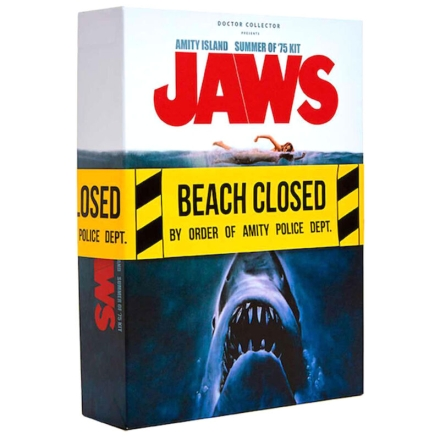Jaws Amity Island Summer of 75 angol Welcome csomag termékfotója
