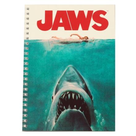 Jaws jegyzetfüzet termékfotója