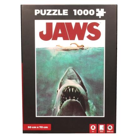 Jaws poszter puzzle 1000db-os termékfotója