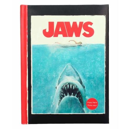Jaws világítós jegyzetfüzet termékfotója