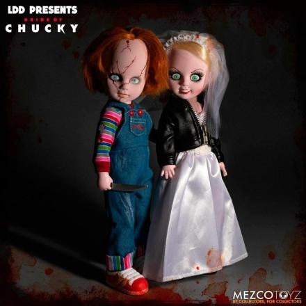 Living Dead Dolls Chucky and Tifanny 2db-os figura csomag 25cm termékfotója