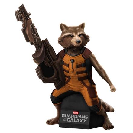 Marvel A galaxis örzői Rocket Raccoon Bust Bank figura termékfotója
