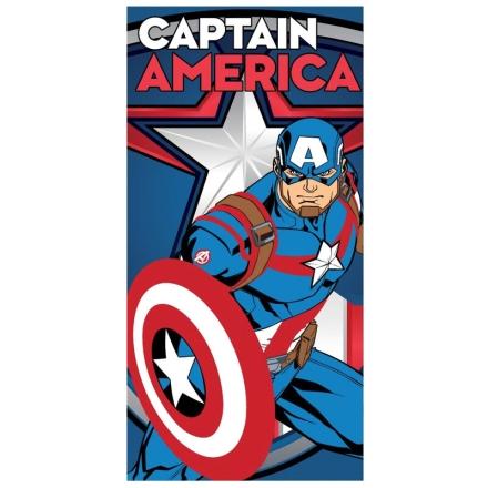 Marvel Amerika Kapitány mikroszálas strand törölköző termékfotója