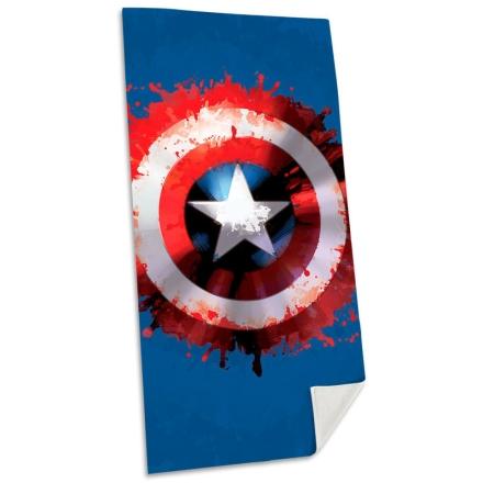 Marvel Amerika Kapitány pamut strand törölköző termékfotója