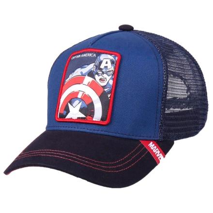 Marvel Amerika Kapitány prémium baseball sapka termékfotója
