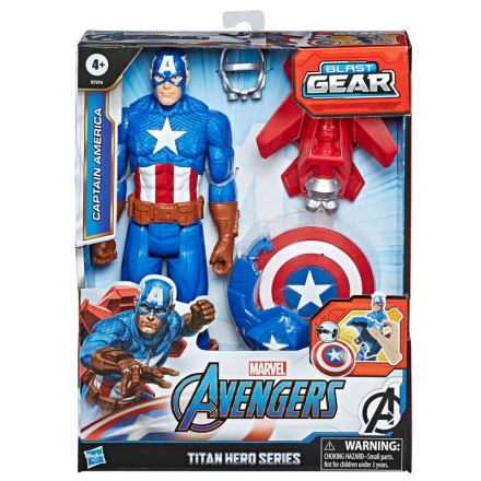 Marvel Bosszúállók Amerika Kapitány Titan figura termékfotója