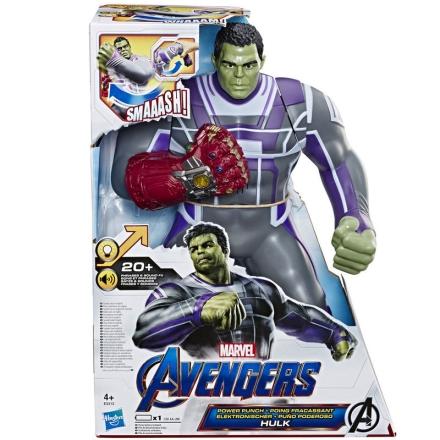 Marvel Bosszúállók Hulk Power Punch figura 35cm termékfotója