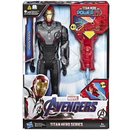 Marvel Bosszúállók Iron Man Titan Hero Power figura 30cm termékfotója