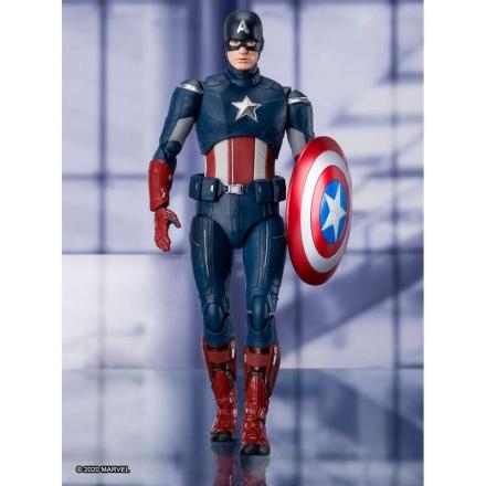 Marvel Bosszúállók Végjáték Amerika Kapitány figura 15cm termékfotója