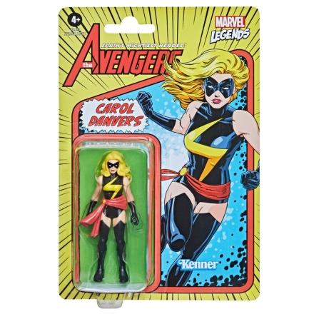Marvel Carol Danvers retro figura 9,5cm termékfotója