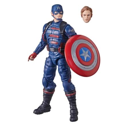 Marvel Falcon and the Winter Soldier Amerika Kapitány figura 15cm termékfotója