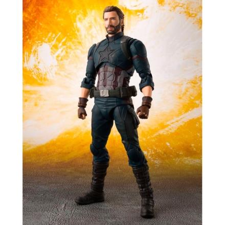 Marvel Infinity War Captain America articulated figura 16cm termékfotója