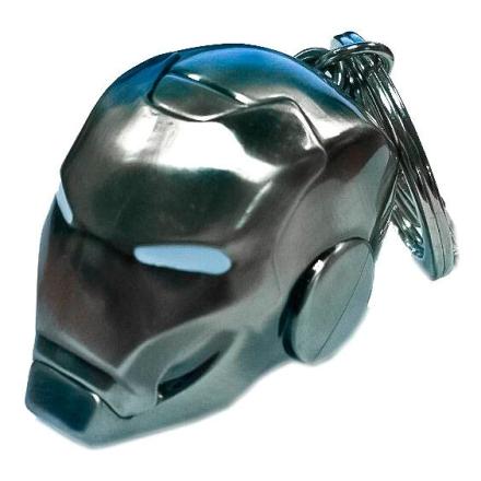 Marvel Iron Man Sisak Jel II metál kulcstartó termékfotója