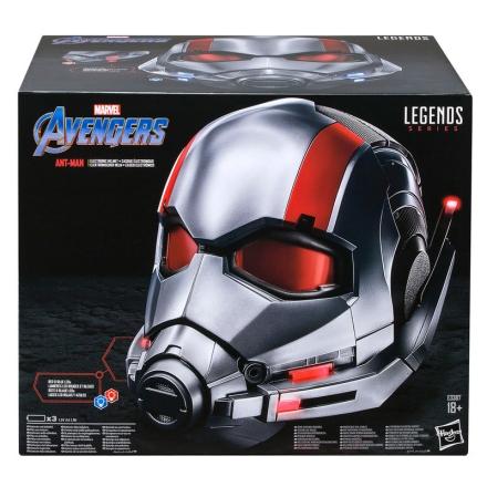 Marvel Legendák Bosszúállók Hangya elektromos sisak termékfotója