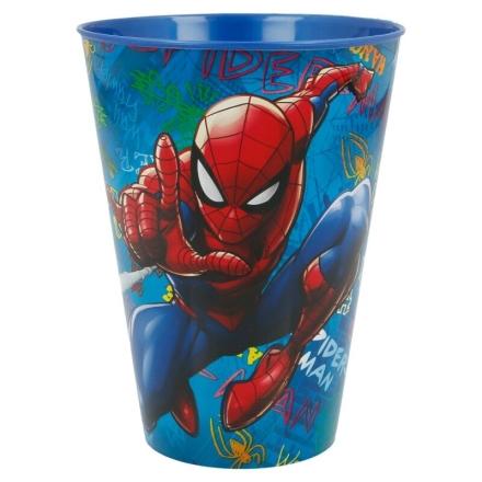 Marvel Pókember Graffiti műanyag pohár 430ml termékfotója