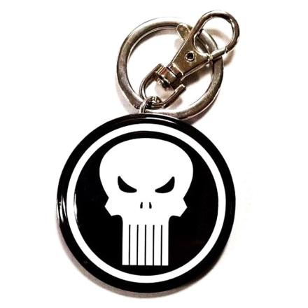 Marvel Punisher metál kulcstartó termékfotója
