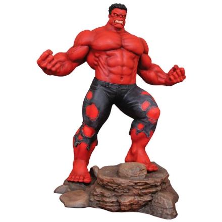 Marvel Red Hulk diorama figura 25cm termékfotója