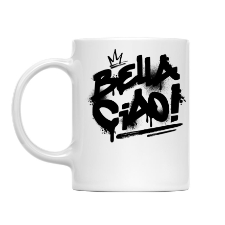 Money Heist Bella Ciao Graffiti bögre termékfotója