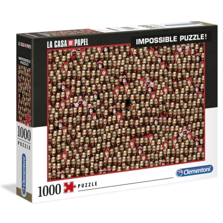 Money Heist Lehetetlen puzzle 1000db-os termékfotója