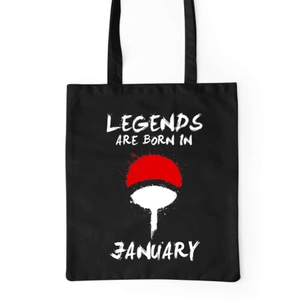 Naruto Uchiha Legends January bevásárlótáska termékfotója