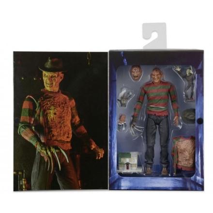 Nigtmare Elm Street 3 Dream Warriors Freddy Ultimate figura 18cm termékfotója