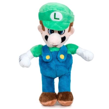 Nintendo Super Mario Bros Luigi plüssfigura 20cm termékfotója