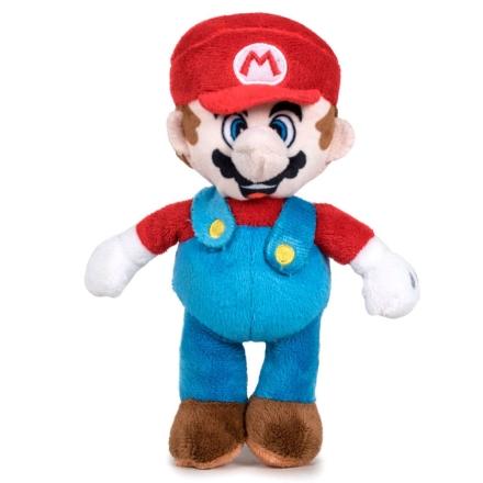 Nintendo Super Mario Bros Mario plüssfigura 20cm termékfotója