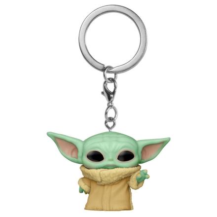 Pocket POP kulcstartó Star Wars The Mandalorian Yoda A gyermek termékfotója