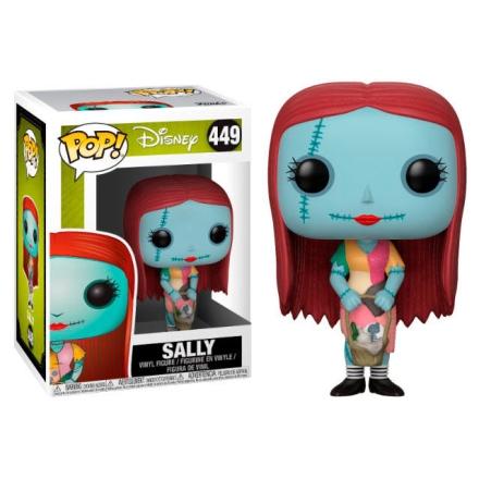 POP figura Disney Karácsonyi lidércnyomás Sally kosárral termékfotója