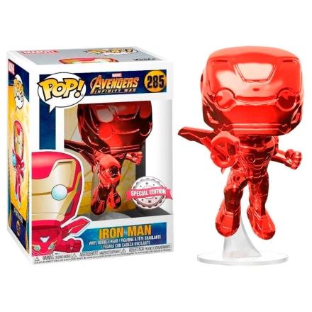 POP figura Marvel Avengers Infinity War Iron Man Piros Exkluzív termékfotója
