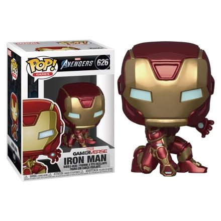 POP figura Marvel Bosszúállók Game Iron Man Stark Tech Suit termékfotója
