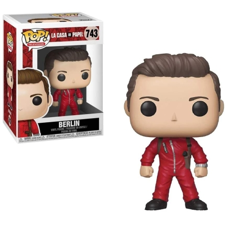 POP figura Money Heist Berlin termékfotója