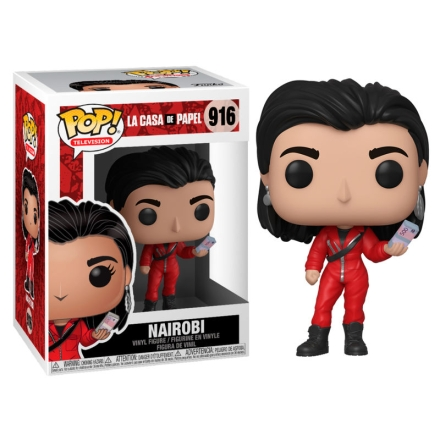 POP figura Money Heist Nairobi termékfotója