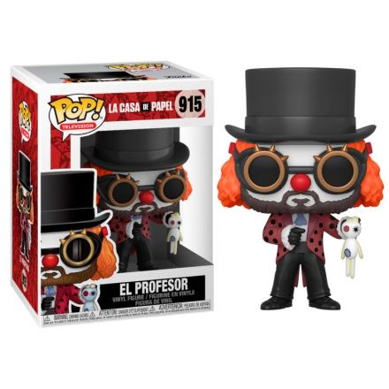 POP figura Money Heist Professor Clown termékfotója