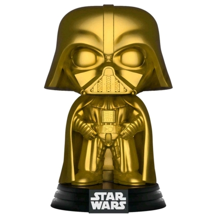 POP figura Star Wars Darth Vader Gold Metallic Exkluzív termékfotója