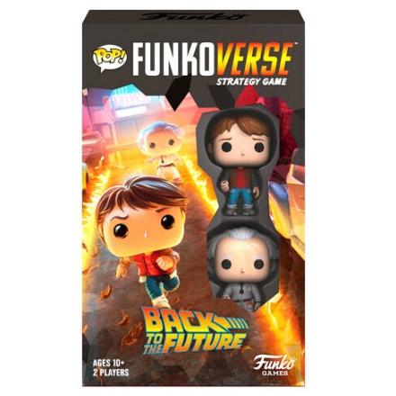 POP Funkoverse társasjáték Back to the Future 2db-os Angol nyelvű termékfotója