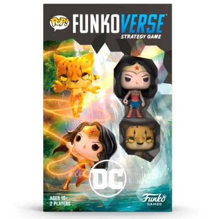 POP Funkoverse társasjáték DC Comics Wonder Woman (angol nyelvű) termékfotója