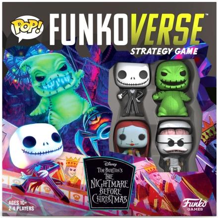 POP Funkoverse társasjáték Nightmare Before Christmas 4db-os (Angol) termékfotója