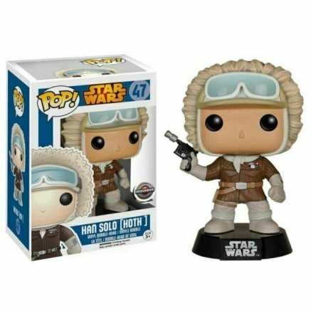 POP Movies Star Wars: Han Solo Hoth figura termékfotója