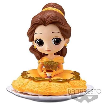 Q Posket Disney Beauty and the Beast Belle A figura 14cm termékfotója