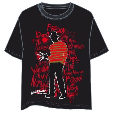 Rémálom az Elm utcában felnőtt póló termékfotója