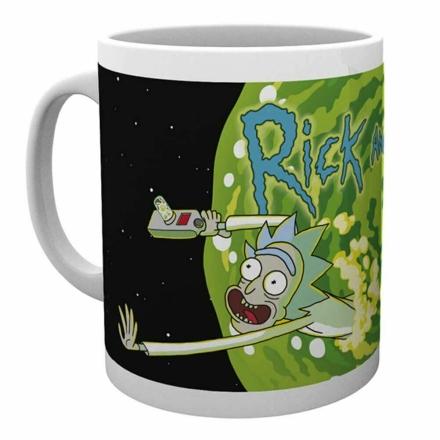 Rick & Morty Logós bögre termékfotója