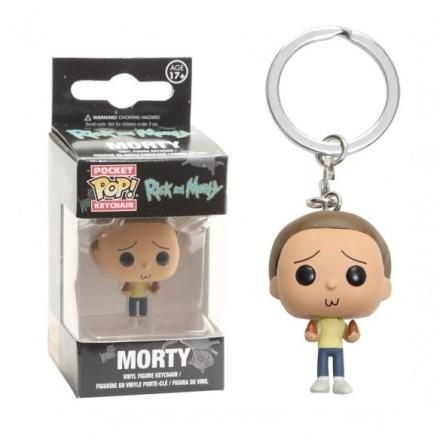 Rick és Morty kulcstartó Morty figurával termékfotója