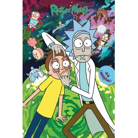 Rick és Morty logós poszter termékfotója