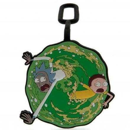 Rick és Morty poggyászcímke termékfotója
