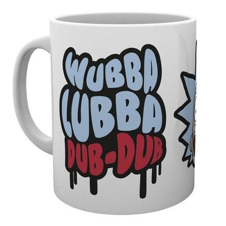 Rick és Morty Wubba Lubba Dub-Dub bögre termékfotója