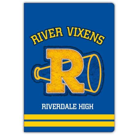 Riverdale A5 jegyzetfüzet termékfotója
