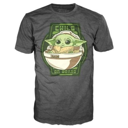 Star Wars Mandalorian Yoda The Child On Board póló [L] termékfotója